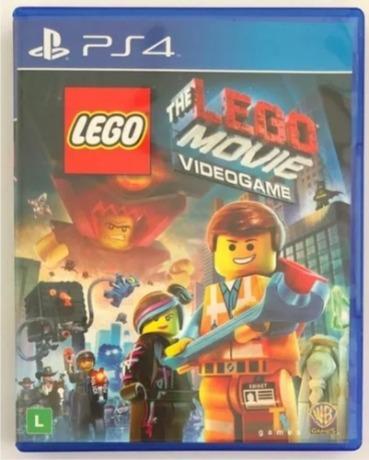 Jogo Ps4 Lego Movie Midia Fisica Original