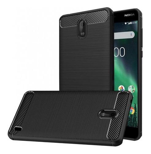 Imagen 1 de 5 de Protector Tpu Carbono Nokia 2 N2 / Nokia 3 N3 / Nokia 5 N5 ®