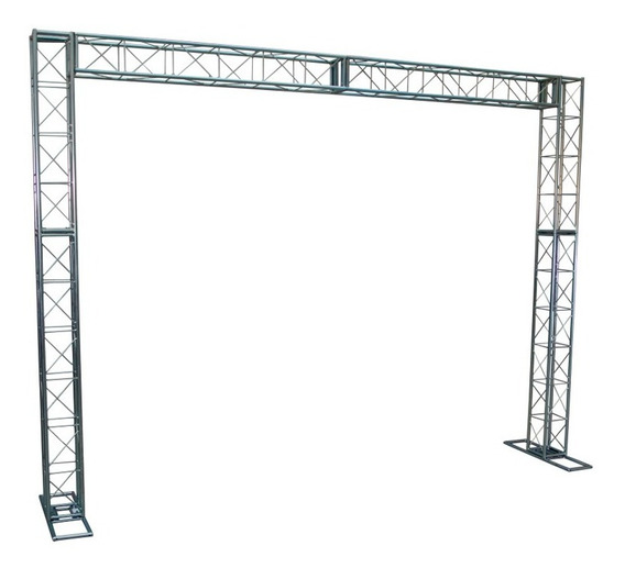 Kit Trave A20 2,5 X 3m - Treliças Box Truss Para Dj