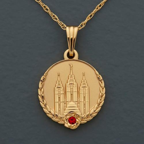 Medalhão Das Moças Colar Mórmon Sud Lds