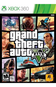 Grand Theft Auto V Gta 5 Xbox 360 Mídia Física Legenda Pt/br