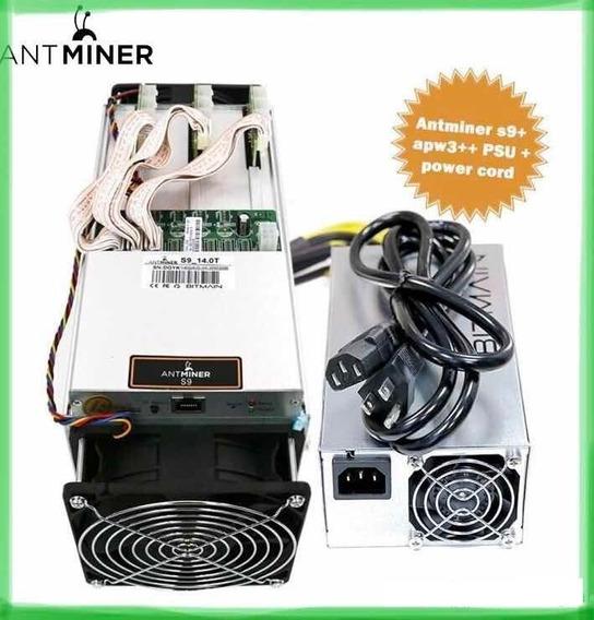 Miner S9 Nuevos Envio Inmediato Garantia Y Fuente De Poder