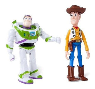 Toy Story Muñeco Woody Vaquero Buzz Original De Disney