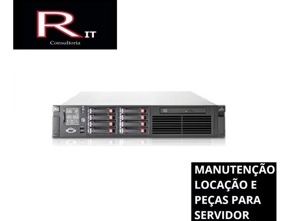 Servidor Hp Proliant Dl380 G7 2 Sixcore 128 Gb 2hd 300sas
