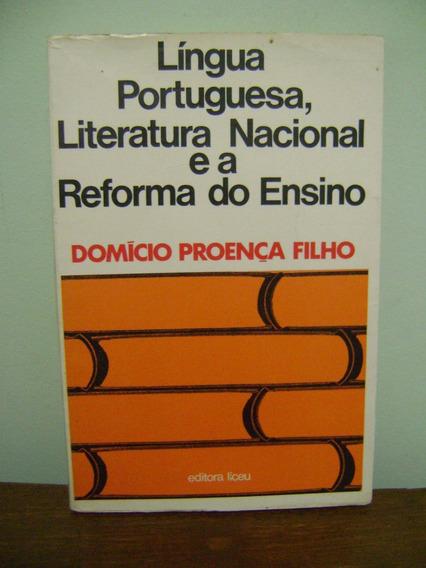 Livro Lingua Portuguesa, Literatura Nacional Domicio Proença