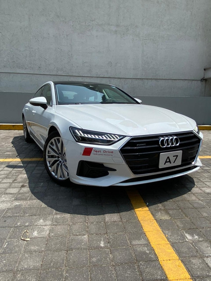 Demo Audi A7 Elite Tfsi 3.0l 340 Hp 2019 Blanco Int Marron