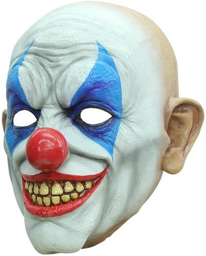 Imagen 1 de 6 de Máscara De Látex Payaso Creepy  Clown Smile Halloween Terror