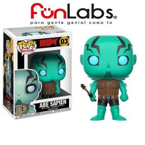 Funko Pop! Comics Hellboy. Abe Sapien. Fun Labs.