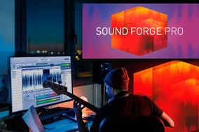 Sound Forge Pro 13 Lançamento Julho 2019 ( Win 32 E 64bit )