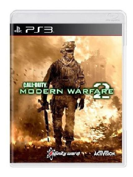 Call Of Duty: Modern Warfare 2 Ps3 - Mídia Física E Lacrada