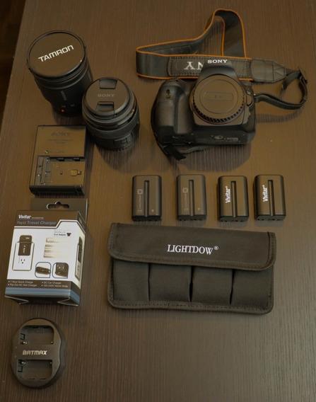 Camera Sony Slt A58 Com 2 Lentes E Acessórios