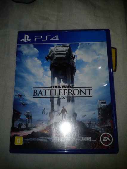 Star Wars Battlefront Ps4 Midia Fisica