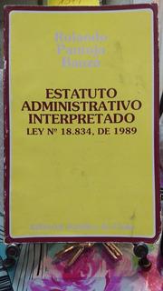 Estatuto Administrativo Interpretado Ley N°18.834 // Pantoja