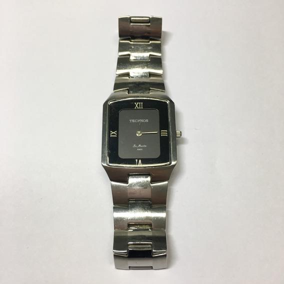 Relógio Original Tecnhos Prata Usado