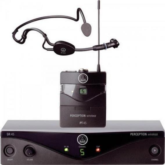 Microfone Wireless Pw45 Sset A1 Preto Akg
