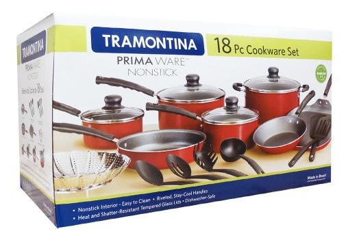 Tramontina Bateria De Cocina Primaware Sartenes 18pz