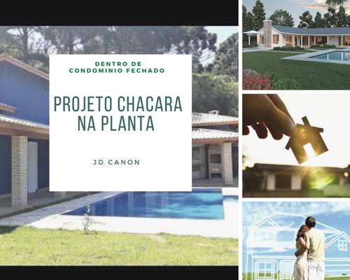 Imagem 1 de 7 de Super Novidade Em Mairinque  Projeto De Chácaras Prontas