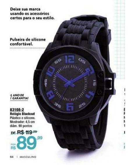 Relógio Blackout