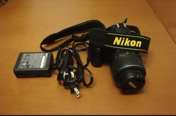 Camara Nikon D60 + Lente 18-55 +lente 70-300mm