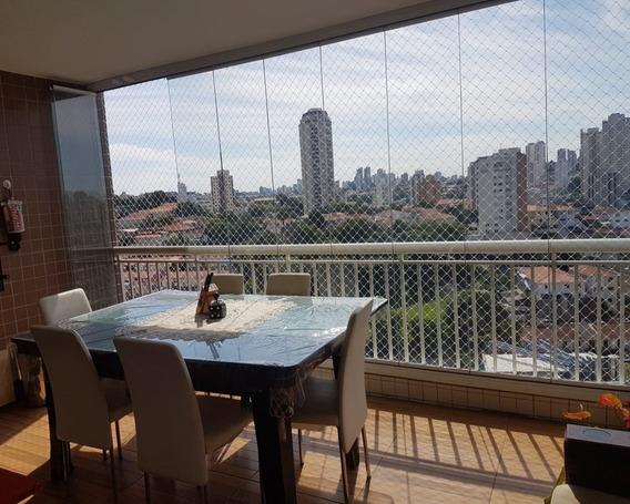 Lindo Apto - 3 Dorm Senso 1 Suite, Varanda Gourmet, 2 Vagas, Lazer Completo - Prox Ao Shopping Park Santana - V2517 - 34681309