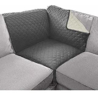 Cubresalas Para Sofa Esquinero Con Correas Aseguradoras
