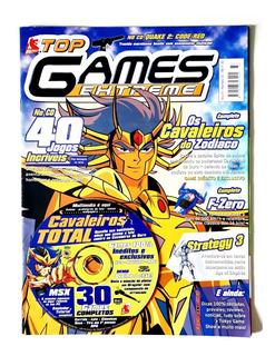 Revista Cd Pc Game Jogo Os Cavaleiros Do Zodíaco - Raridade!