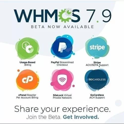 Licença Whmcs 7.xxx Com Instalação E Brindes