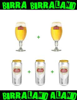 Vaso / Copa / Caliz Stella Artois X2 U + 3 Latas Stella