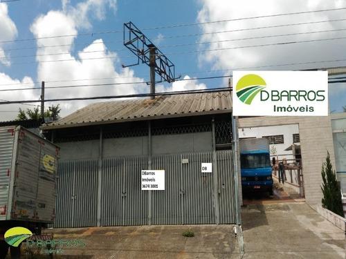 Imagem 1 de 3 de Galpão - Taubate - Terreno 240mts - A.c. 190mts - Excelente Logistica - Beira Da Dutra - Acesso Direto Sp.sp - Rj - 6004 - 34497130