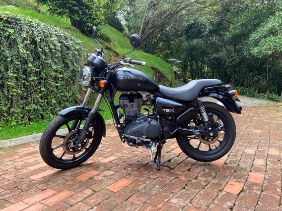 Royal Enfield Tbx 350 Negro Mate