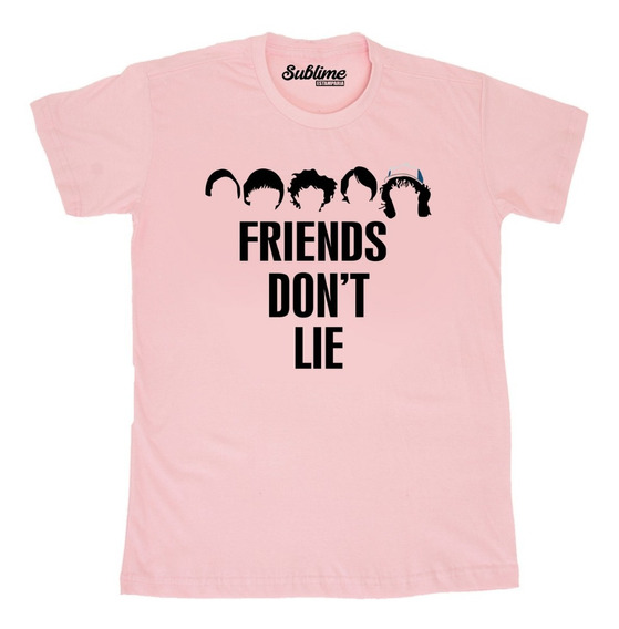 Camiseta Blusa T-shirt Stranger Things Friends Don