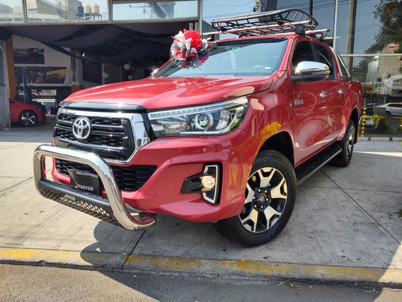 Toyota Hilux 2.8 Tdi Cabina Doble Piel Platinum At 2019