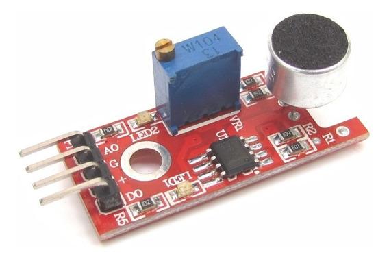 Módulo Sensor Som Ky-038 Detector Sonoro Para Arduino