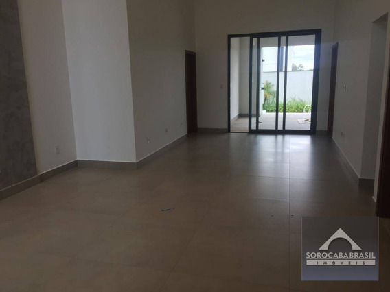Casa Com 3 Dormitórios À Venda, 260 M² Por R$ 1.750.000 - Alphaville Nova Esplanada I - Votorantim/sp, Próximo Ao Shopping Iguatemi. - Ca0093