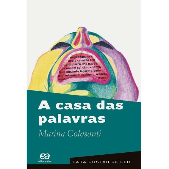Livro A Casa Das Palavras