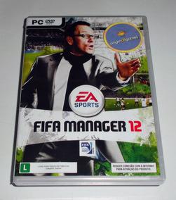 Fifa Manager 12 ¦ Jogo Pc Original Lacrado ¦ Mídia Física