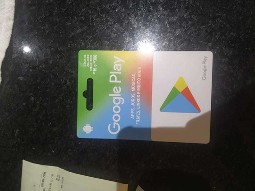 Gift Card Play Store