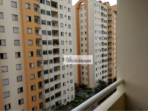 Apartamento Com 3 Dormitórios À Venda, 62 M² - Jardim Vergueiro (sacomã) - São Paulo/sp - Ap5264