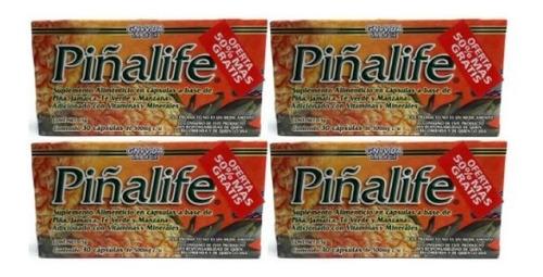 Piñalife Gn Vida 30 Capsulas (4 Piezas) Envio Full