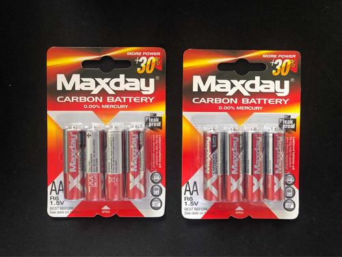 Baterias Aa Pilas - 1 Blister De 4 Unidades
