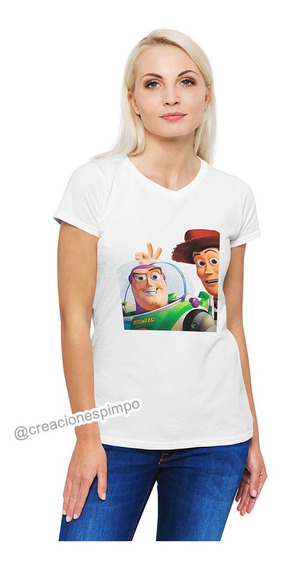 Camiseta Mujer Mickey Mouse Moda Lifestyle Poliester Cpr14