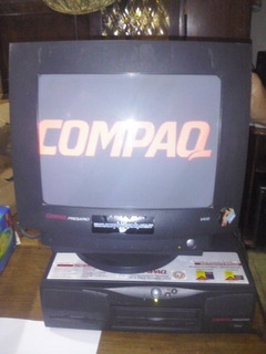 Cpu Y Monitor Compaq Presario 2200 De Coleccion Windows 98
