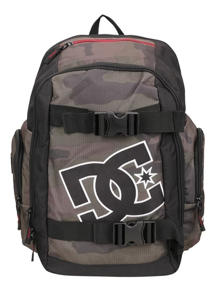 Mochila Dc Shoes Wolfbred Verde Militar