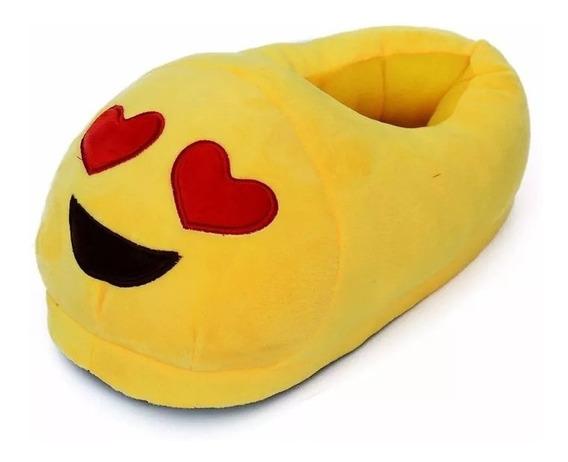 Pantuflas Emoticones Emoji Chicos Dama Hombre Casa David