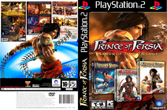 Prince Of Persia Trilogy - Ps2 - Frete R$ 17