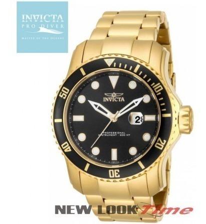 Relógio Invicta Ouro.