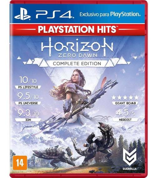 Horizon Zero Dawn Complete Edition - Ps4 - Novo - Lacrado