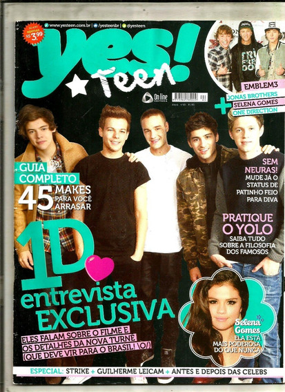 Revista Yes! Teen 63/13 - Selena Gomes/felipe Simas/demi