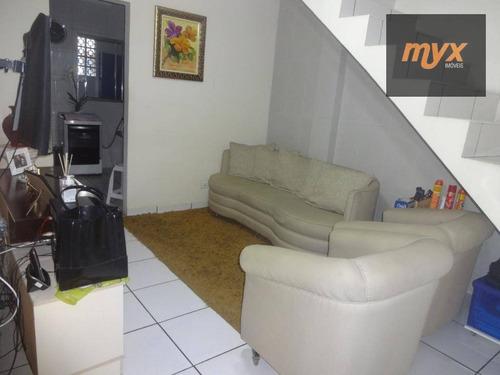 Casa Com 1 Dormitório Para Alugar, 50 M² Por R$ 1.150,00/mês - Parque São Vicente - São Vicente/sp - Ca0906