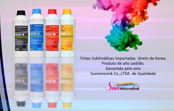 Tinta Sublimatica Epson Sunmicroink Original 4 Lts